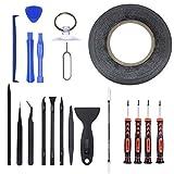 MPTECK 20 in 1 Repairing Tools Kit Professional repair opening Screwdriver ...