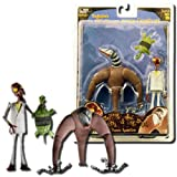 Nightmare Before Christmas: Series 6 Spider Hair Monster & Melting Guy Action Figure