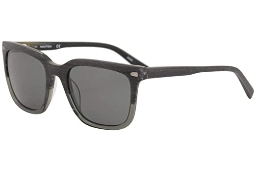 d9e993a2619 Amazon.com  Nautica Plastic Frame Grey Mirror Lens Men s Sunglasses ...