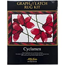 MCG Textiles Cyclamen Latch Hook Rug Kit