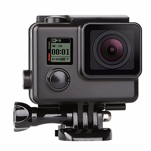 T.Face Side Open Housing Case for GoPro Hero 3+ 4 Black Silver Action Cam Housing Protective Shell For Go Pro4 3+Camera Accessory by T.Face