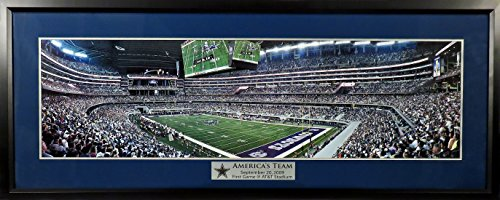 dallas-cowboys-first-game-att-stadium-panoramic-deluxe-framed
