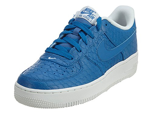 Nike Boys Air Force 1 LV8 (GS) Athletic Shoe (6.5 US Big Kid, Star Blue/Star Blue-Summit White) ()