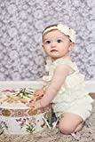 Miugle Baby Girls Lace Headbands With Bows Baby