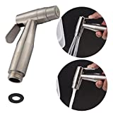 CIENCIA Hand Held Bidet Sprayer Stainless Steel Sprayer Shattaf for Toilet- Water Toilet Cleaning Attachments, Bidet Spray Head Only, WS024A