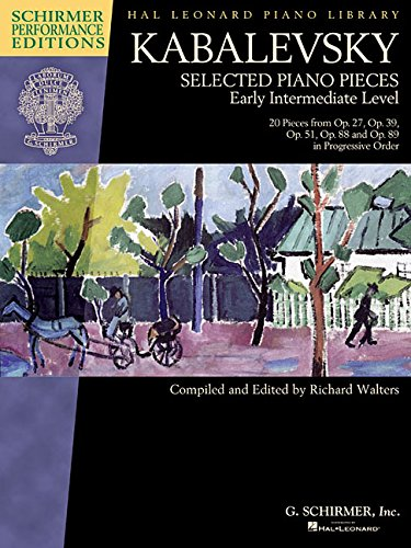 Dmitri Kabalevsky - Selected Piano Pieces: Early Intermediate Level