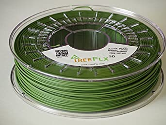 TreeFLX 3D Premium European Bamboo Wood 3D Printer Filament, 750g Spool,-1.75mm- Bamboo Wood Dimensional Accuracy +/- 0.03 mm