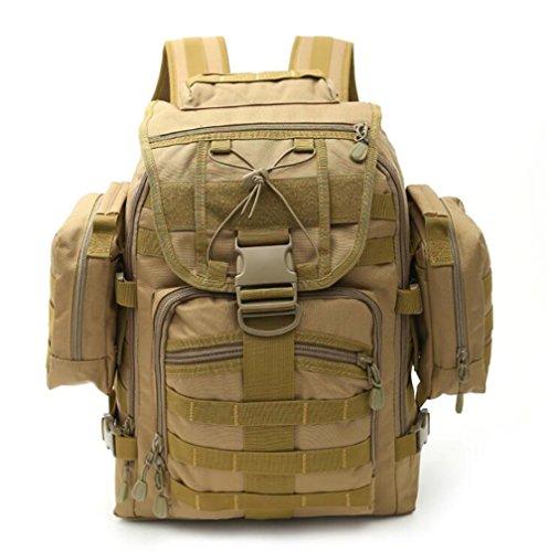 Wmshpeds Multi - funcional combinación de paquete táctico al aire libre de camuflaje escalada bolso hombro mochila F