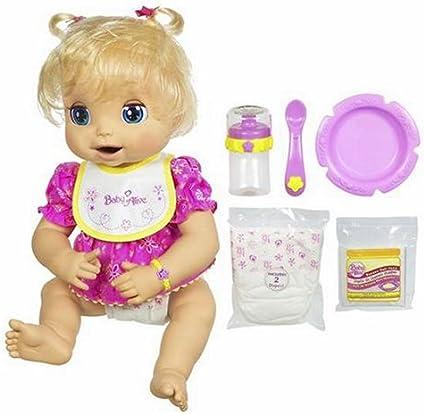 Amazon Com Baby Alive Hasbro Doll Caucasian Toys Games