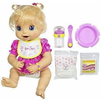 Amazon Com Hasbro Baby Alive Doll Caucasian Toys Amp Games