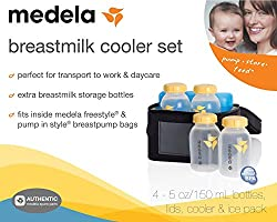 Medela Breast Milk Cooler Set Fits Sonata Freestyle Pump in Style Pump Bags