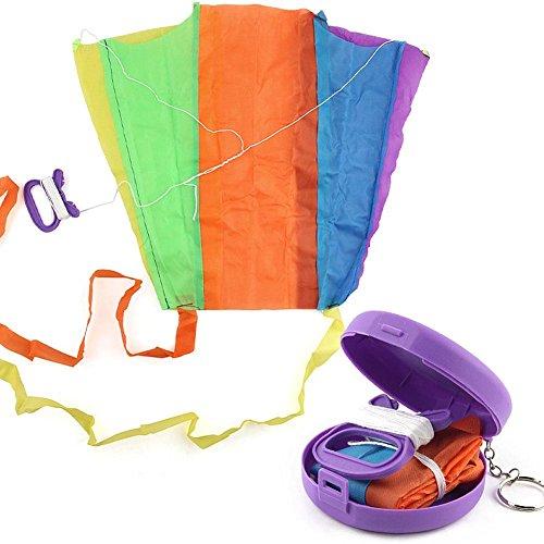WXLAA Folding Pocket Flying Kite Kids Toys with Storage Case Outdoor Sports Child Toys