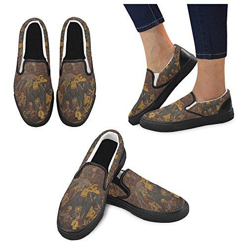 Unieke Debora Aanpassen Van De Sneakers Van De Maniervrouwen De Ongebruikelijke Instappers Van Het Leeglopers Veelkleurige41
