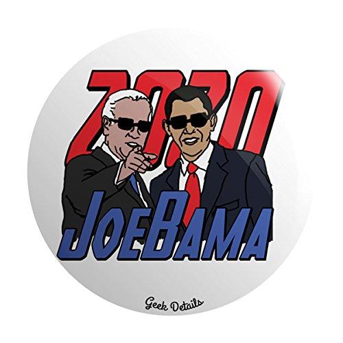 Geek Details Obama Themed Pinback Button (JoeBama 2020)
