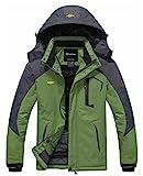 Image of Wantdo Men's Waterproof Mountain Jacket Fleece Windproof Ski Jacket(US M)