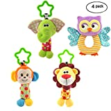 MKONY Baby Crib Hanging Toys, Infant Stroller Car Seat Bed Toys,Newborn Activity Development Toy,...