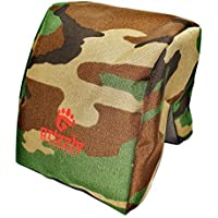 Grizzly Camera Bean Bag (LARGE-FOREST CAMOUFLAGE), Photography & Video Bean Bag, Camera Support, Camera Sandbag, Spotting Scope Support, Birders Bean Bag Tripod, African Safari, Photography Tours.