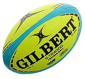 Gilbert Rugby-Trainingsball G-TR4000 Fluoro Größe 5