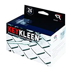 Read Right Keykleen Keyboard Cleaner Swabs, 24 Swabs Per Box (Rr1243)