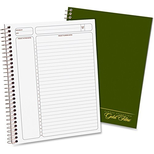 Gold Fibre Classic Project Planner, (20-816) Sold as a 6-Pack by Ampad