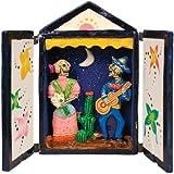 Day of the Dead Folk Art Serenade Box Retablo