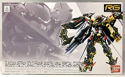 Bandai RG 1/144 Gundam Astray Gold Frame Amatsu Mina [Special Coating] Model kit
