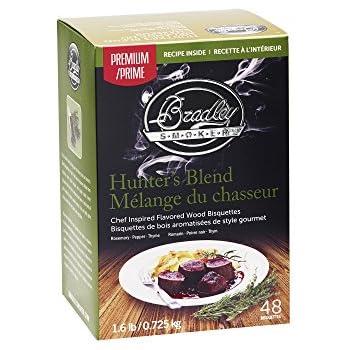 Bradley Smoker Hunter's Blend Bisquettes (48 Pack)