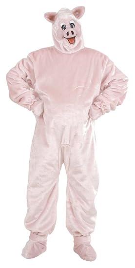 WIDMANN Disfraz de cerdo para adulto: Amazon.es: Juguetes y juegos