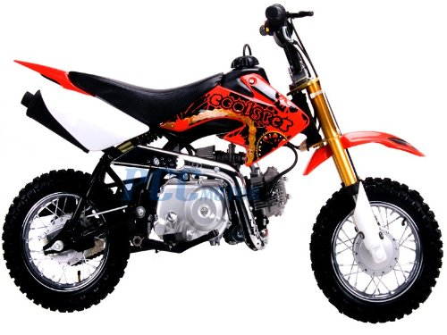 Red Coolster- Coolster 110 Dirt bike Review