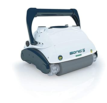AquaForte Sonic 5 robot aspiradora Piscina y limpiador de piscina pool Robot aspirador: Amazon.es: Jardín