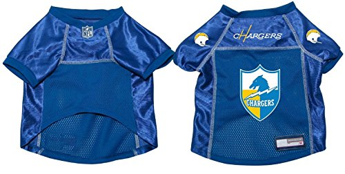 NFL San Diego Chargers Pet Dog Football Jersey MEDIUM ()