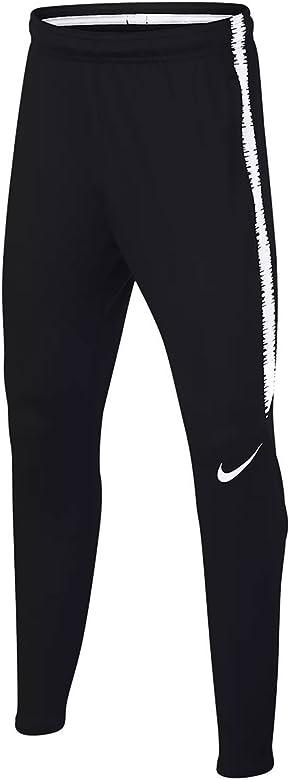 Nike Dry Squad Pantalón, Niños, Blanco/Negro, Extra-Small: Amazon ...