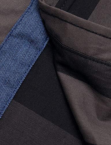 Pinkpum Homme Chemise en Coton à Carreaux Slim Fit Manches Longues Basic Business Loisirs