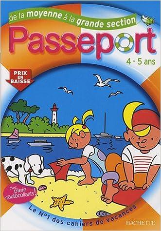Lire un Passeport de la Moyenne à la Grande Section pdf, epub