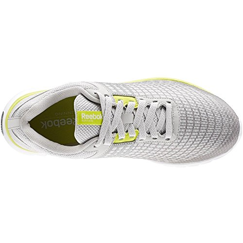 Escape Sublite Reebok 0 Running Steel white Femme grey 3 Gris Chaussures yellow wAq5xHnE