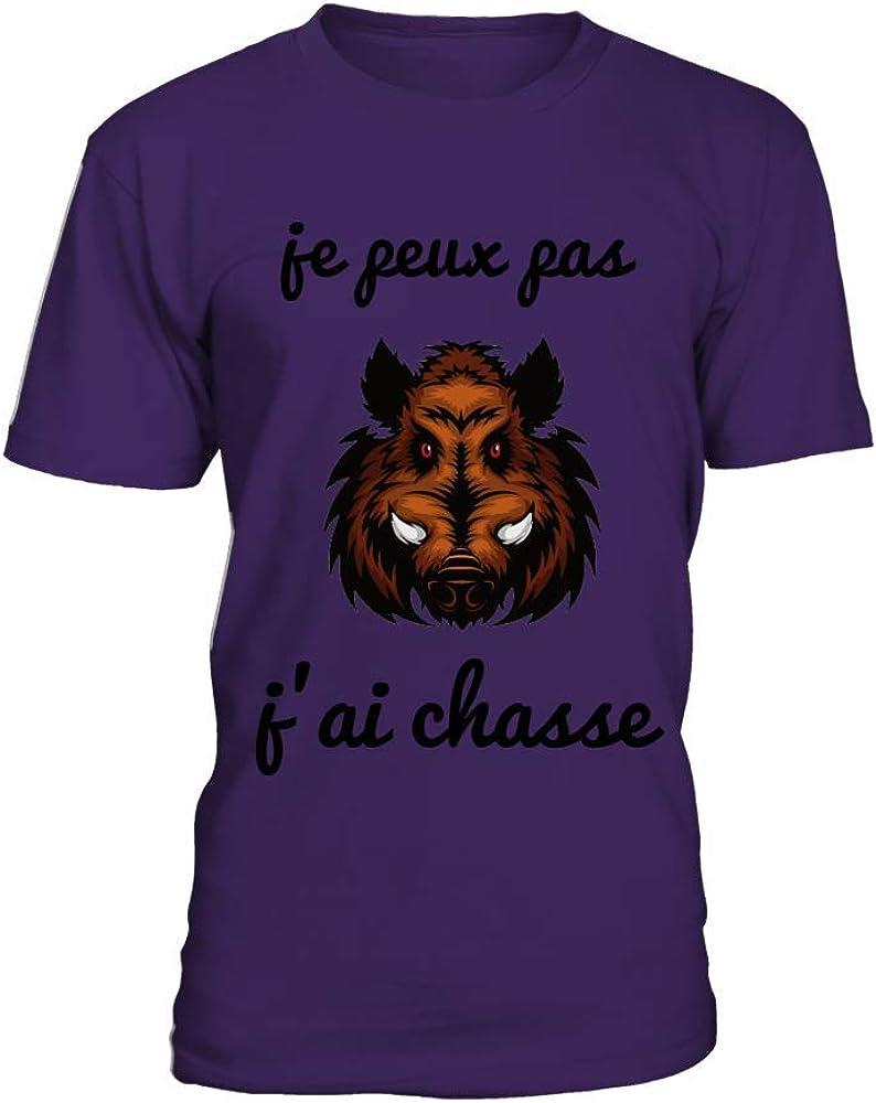 T-Shirt Je Peux Pas JAi Chasse Homme