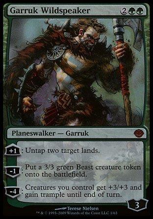 Magic The Gathering - Garruk Wildspeaker - Duel Decks: Garruk vs Liliana - Foil