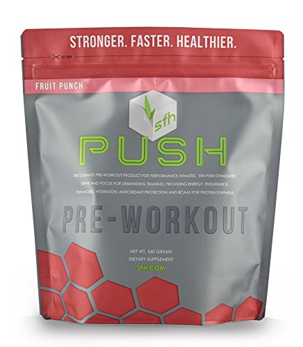 SFH PUSH Fruit Punch 540g