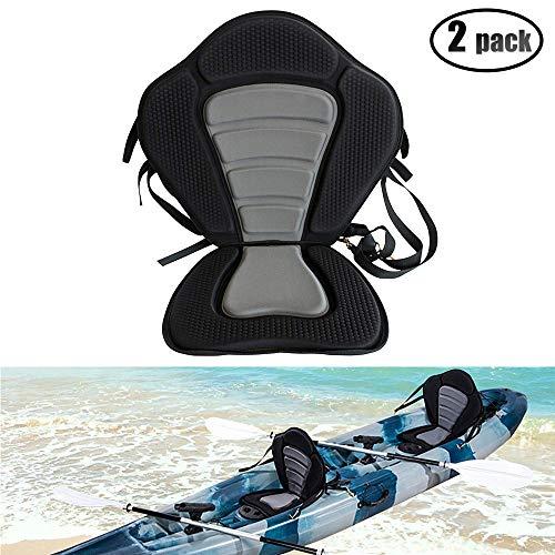 - IZTOSS Kayak Backrest Boating Seat,Luxury Adjustable Padded Kayak Seat Back(2pack)