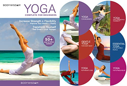 Yoga Beginners Deluxe DVD Set product image