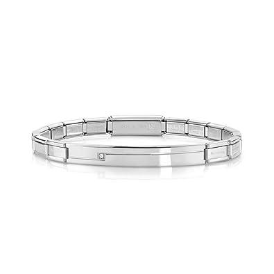 Nomination Trendsetter 021111/002 Women's Bracelet, Stainless Steel, 18 cm