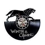 Game of Thrones Theme Vinyl Unique Wall Clock