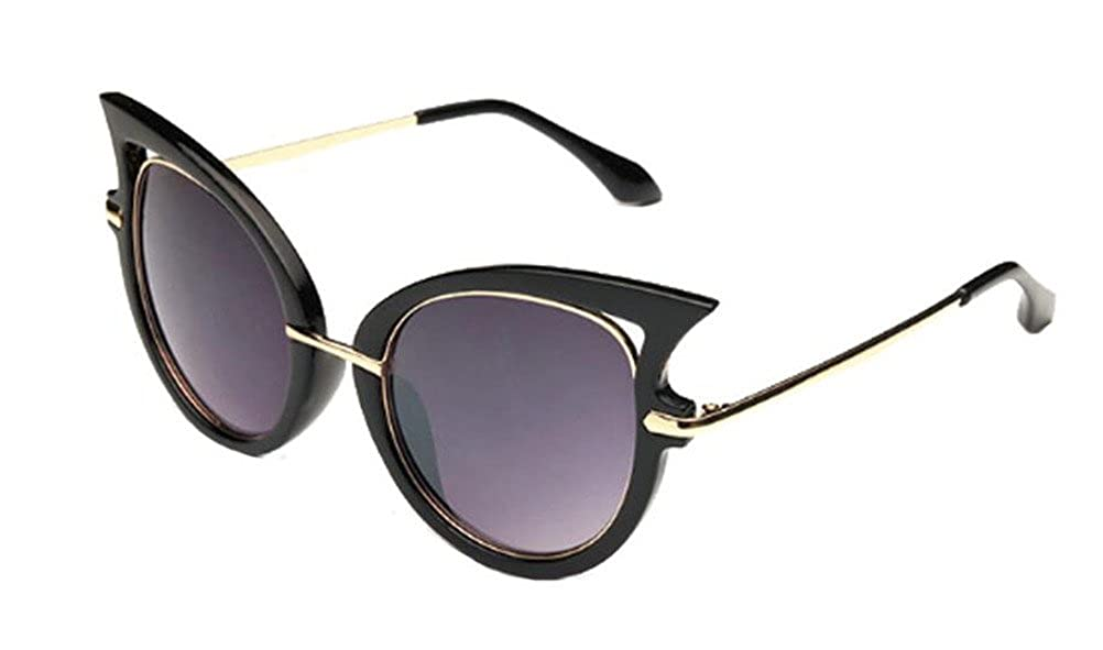 GAMT New Fashion Round Cateye Mirrored Sunglasses For Women Classic Style