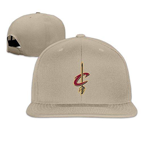 Men Women Cavaliers Sword Logo Baseball Hat Natural (8 Colors)