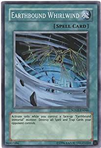 Yu-Gi-Oh SOVR-EN046 Earthbound Whirlwind unlimited Super Rare