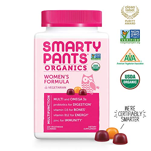 SmartyPants Organic Complete Gummy Vitamins product image
