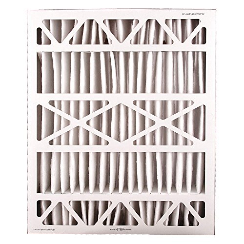 Air Cleaner Filter, 25x20x6, MERV11, PK2