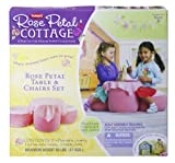 : Playskool Dreamtown Rose Petal Table And Chair Dinette