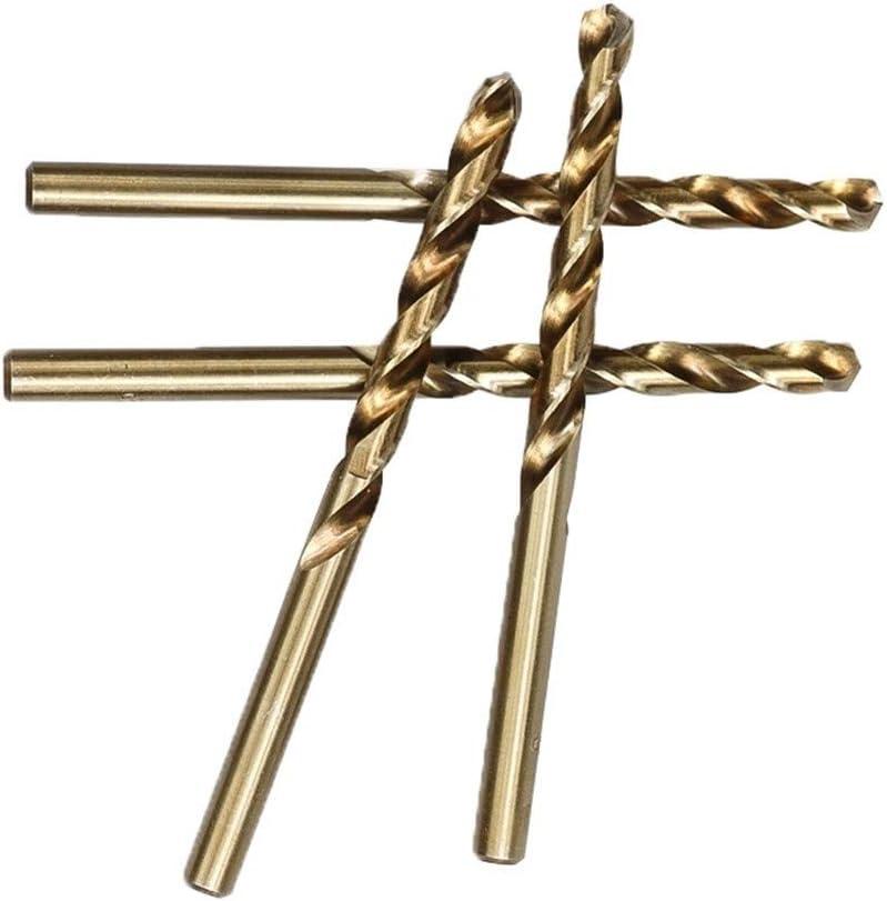 Color : 11.0mm, Size : 5pcs 1.0-13mm Cobalt Twist Drill Bit Set