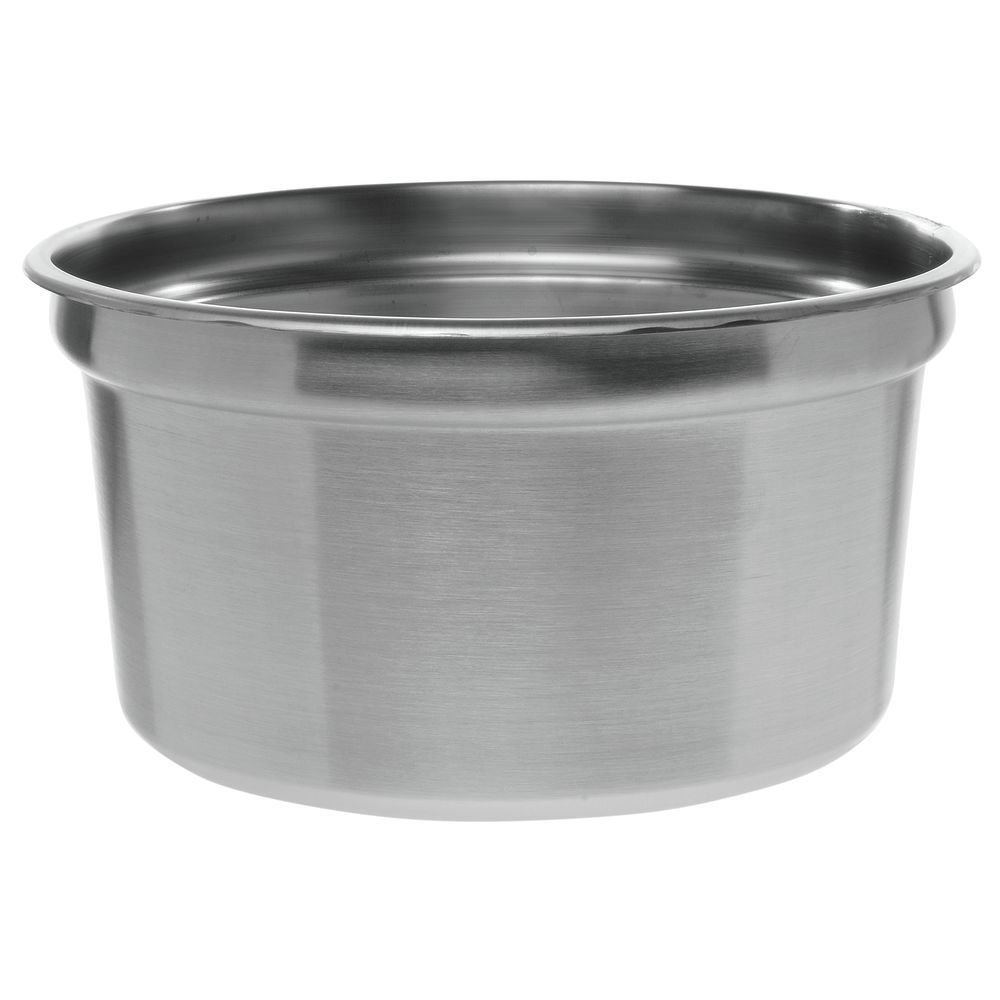 Winco Stainless Steel Insert Pan For 11 qt Food Warmer - 10 1/2 Dia x 8'' D by D W L INDUSTRIES CO. (WINCO)